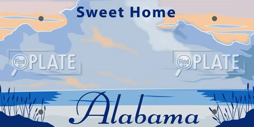 Alabama License Plates