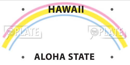 Hawaii License Plates
