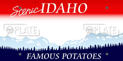 Idaho License Plates