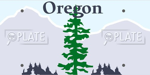 Oregon License Plates