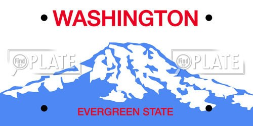 Washington License Plates