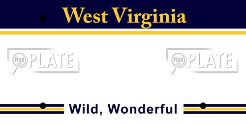 West Virginia License Plates