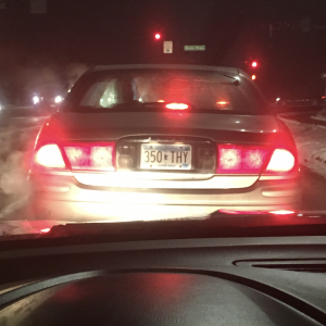 350THY MN License Plate